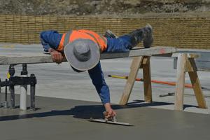 Builder cementing Bribie Osteopathy